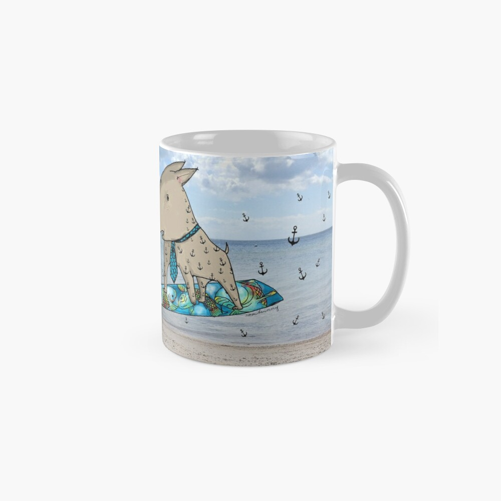 Surfer Dog Tasse (Standard)