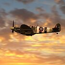 AB910 Sunset Pass by Airpower Art