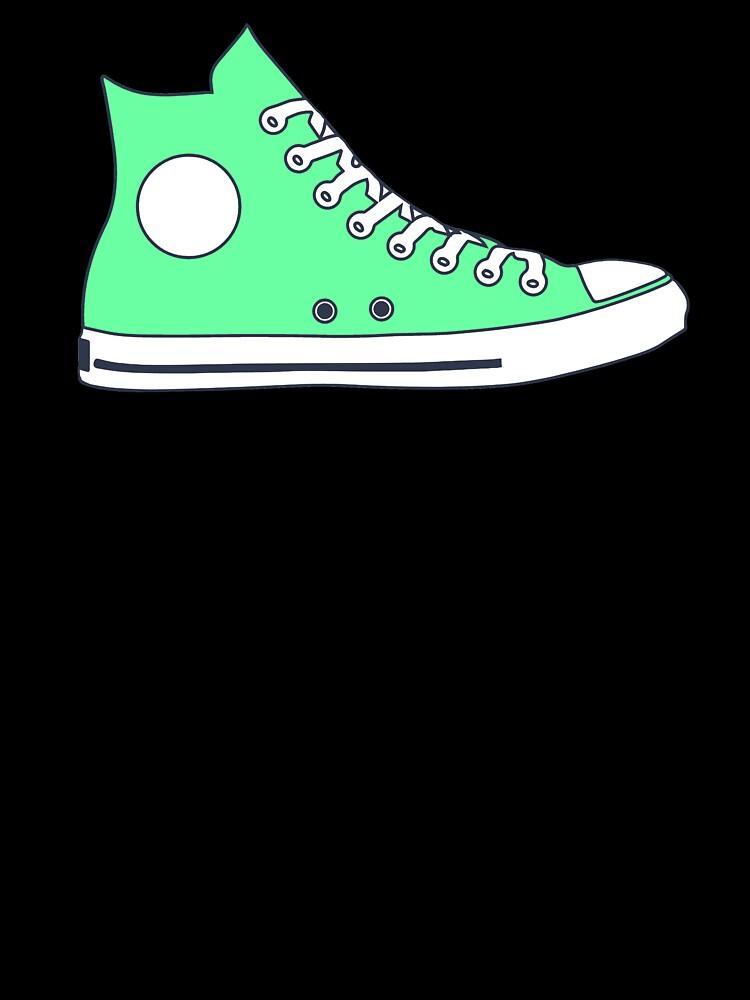 converse verde mint