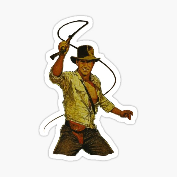 Indiana Jones Sticker