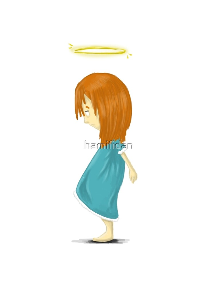Angel Girl - tee by hamifidan