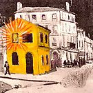 The Yellow House ( Homage to Vincent VanGogh ) by Richard  Tuvey
