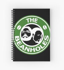 The Beanholes Logo Spiral Notebook
