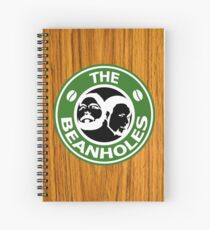 The Beanholes Woodgrain Spiral Notebook