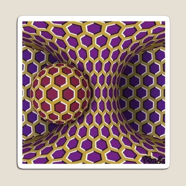 #pattern #abstract #art #design #shape #decoration #futuristic #illustration #geometry #hexagon #fractal #colorimage #textured #geometricshape #bunch #styles #backgrounds #square #illusion #delusion Magnet