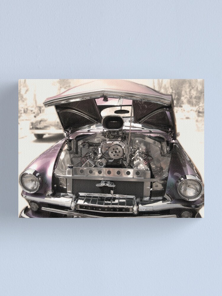 Alternate view of Plymouth Classic Canvas Print