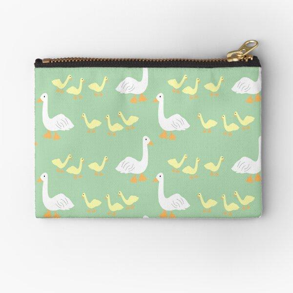 All my Ducks in a Row Zipper Pouch