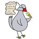 pistachio bird by Soxy Fleming