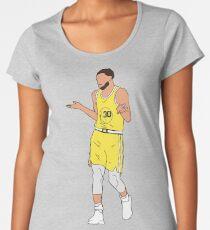 Steph Curry Shrug Women's Premium T-Shirt