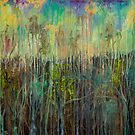Ethereal Forest Abstract by sharontaylorart