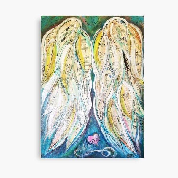 Music Angel Wings Canvas Print