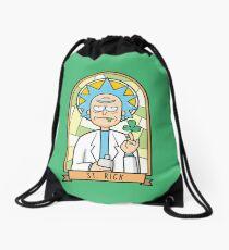 Saint (Pat)Rick Drawstring Bag