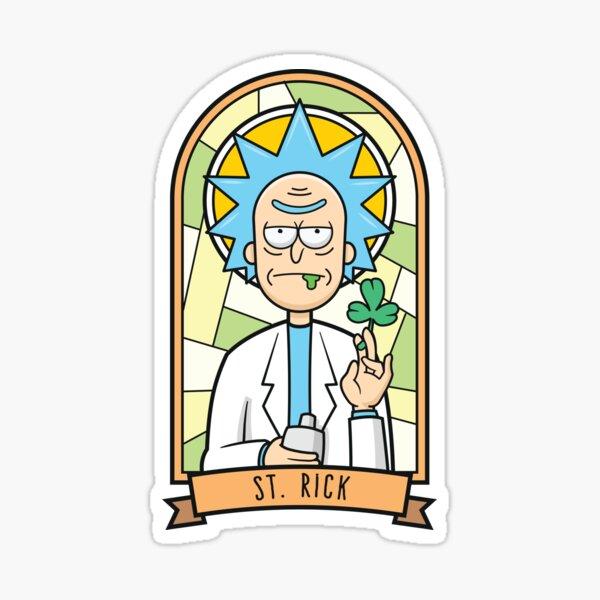 Saint (Pat)Rick Sticker