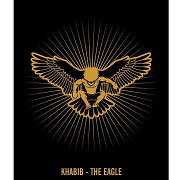 Khabib Nurmagomedov Eagle by ibrahimGhd