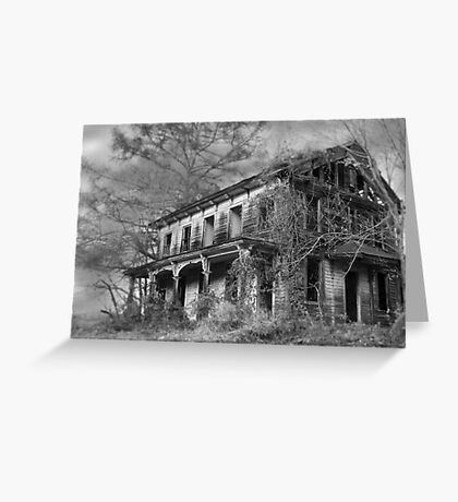 THE HOUSE ON THE LEFT.... Greeting Card
