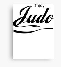 Enjoy Judo  Canvas Print