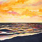Sunrise Beach (October Sky) by sharontaylorart