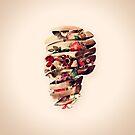 Peeled Skull by Ali Gulec