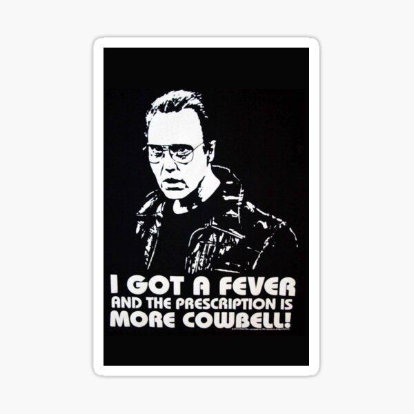 I Got A Fever Sticker