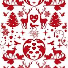 Folksy Christmas by CDdesignsUK