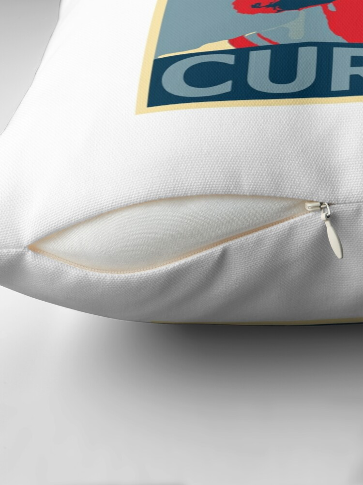 Alternate view of stephen curry  Throw Pillow