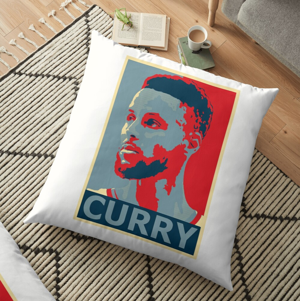 stephen curry  Floor Pillow