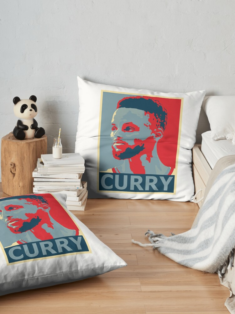 Alternate view of stephen curry  Floor Pillow