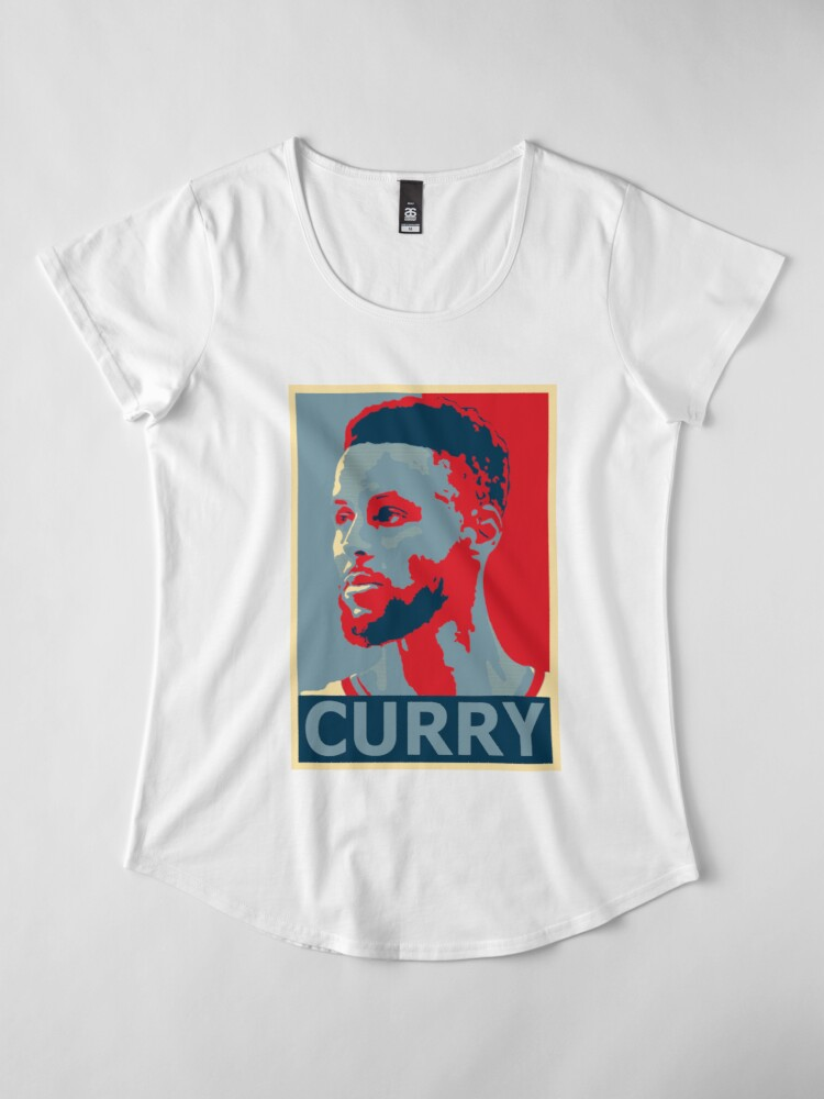 Alternate view of stephen curry  Premium Scoop T-Shirt
