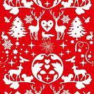 Folksy Christmas reversed by CDdesignsUK