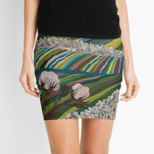 Southern Glory (Tennessee Cotton Field) Mini Skirt