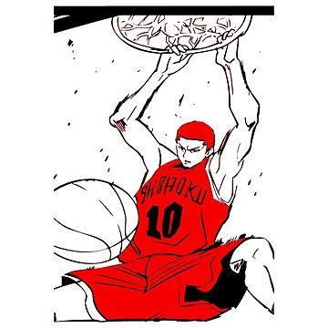 Hanamichi Sakuragi - Slam Dunk by OtakuPapercraft