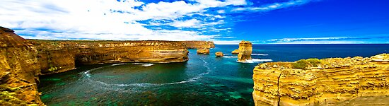 The Great Ocean Road - The Blowhole by Geoffrey Thomas