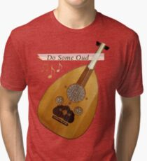 The oud - Music instrument popular in Arabic countries Tri-blend T-Shirt