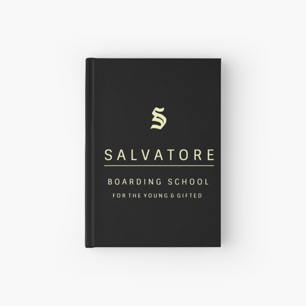 El internado de Salvatore para jóvenes y superdotados Cuaderno de tapa dura