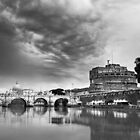 Castel Sant'Angelo in Mono, Rome Italy by Cliff Williams