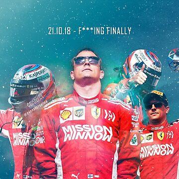 Kimi Raikkonen - Finally by evenstarsaima