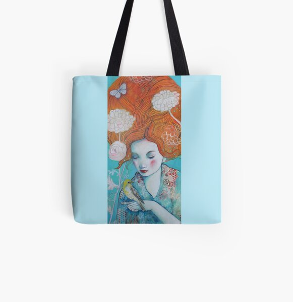 In Confindence All Over Print Tote Bag