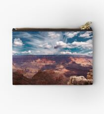 The Storm on the North Rim Zipper Pouch