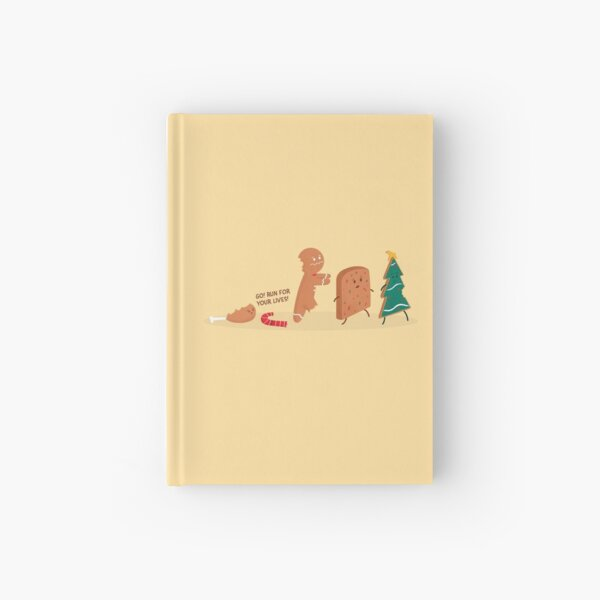 It's Christmas! Run for your lives! Hardcover Journal