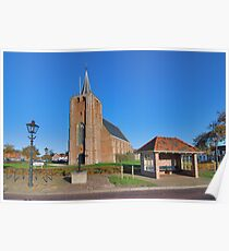RedBubble village Renesse Poster