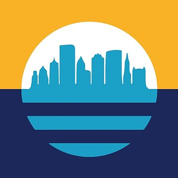 Milwaukee Flag Skyline by philip30shady