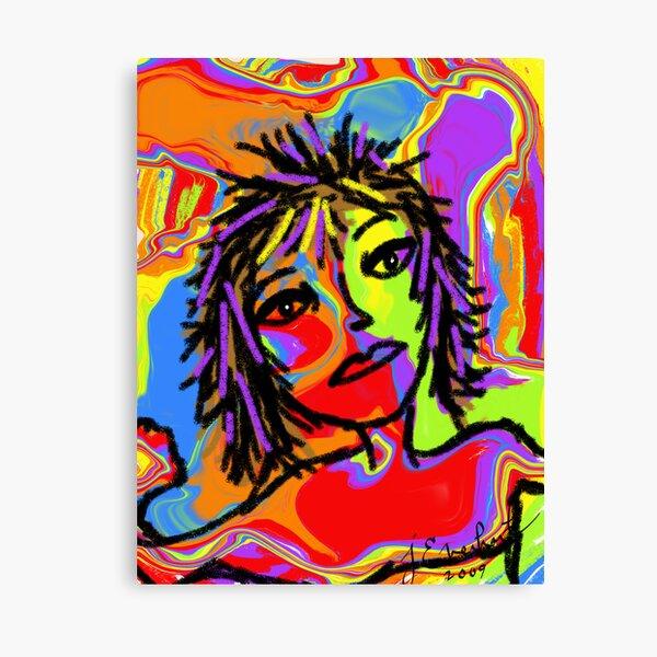 Rainbow Girl by Julie Everhart Canvas Print