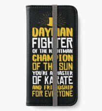 DAYMAN! Champion der Sonne! iPhone Flip-Case/Hülle/Klebefolie