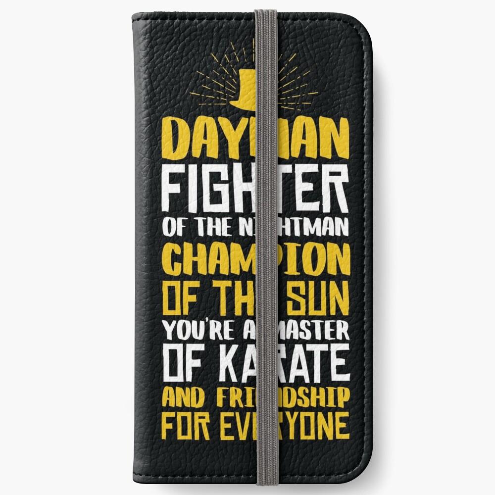 DAYMAN! Champion der Sonne! iPhone Flip-Case