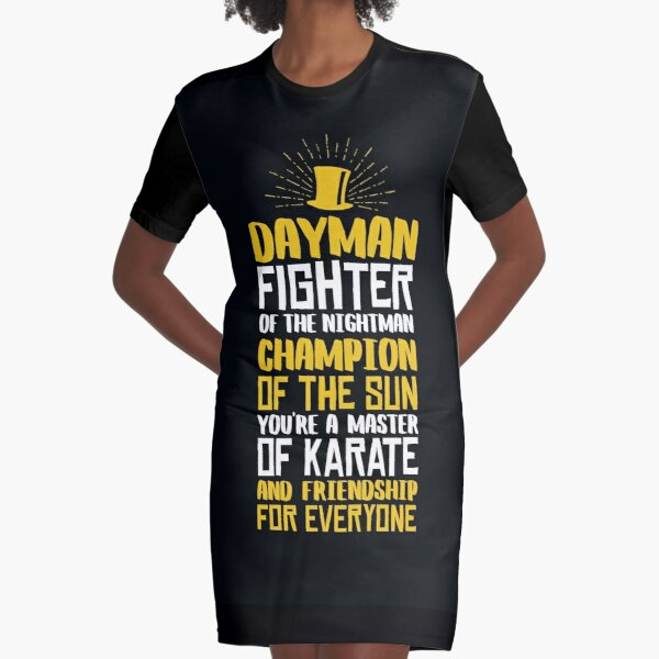 DAYMAN! Champion of the Sun! Graphic T-Shirt Dress