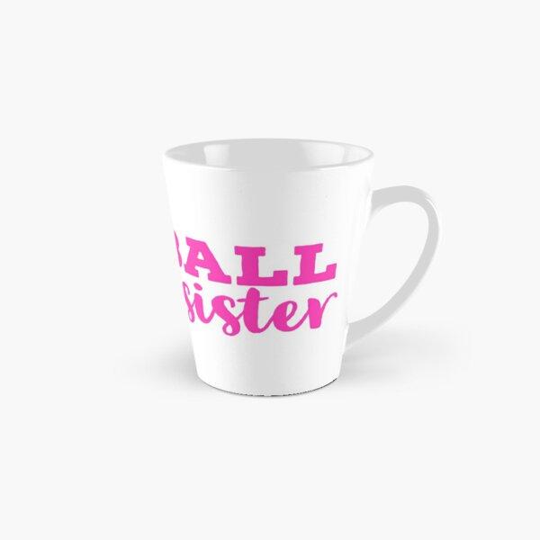 Softball Sister Pink Typography  Tall Mug