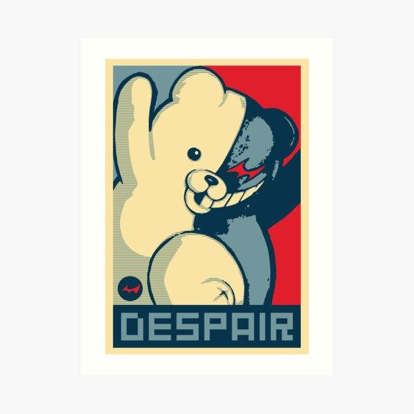 Monokuma: Vote for Ultimate Despair Art Print