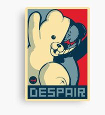 Monokuma: Vote for Ultimate Despair Canvas Print
