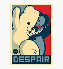 Monokuma: Vote for Ultimate Despair Photographic Print