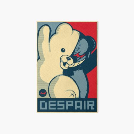 Monokuma: Vote for Ultimate Despair Art Board Print